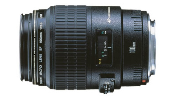 Canon's EF 100mm f/2.8 Macro USM lens. (Photo Credit: Canon USA)