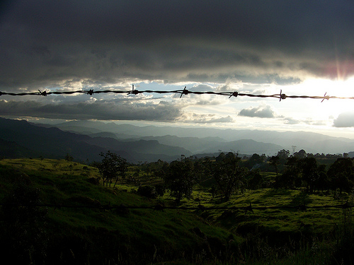 'Colombia's Endless Mountains,' by Gabriel of Miami, Florida.