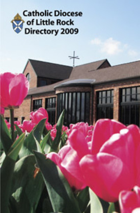 David G. Turner's photo of St. Vincent de Paul Church in Rogers was featured on the cover of the 2009 diocesan directory. (Photo Credit: David G. Turner via the 'Arkansas Catholic' Website)