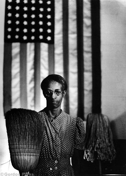 'American Gothic, 1942,' by Gordon Parks