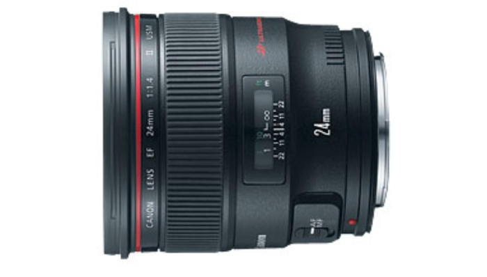 EF 24mm f/1.4L II USM: This is one of my favorite wide-angle lenses. First of all, it produces needle-sharp images from corner-to-corner. Second, its ultra-fast f/1.4 maximum aperture is ideal for photojournalists who may be shooting in tight spaces with less-than-ideal lighting. Also, this lens offers extremely pleasing bokeh (the out-of-focus, soft blur when using a shallow depth of field). The ultrasonic motor allows for highly responsive and quiet autofocus. Again, being a pro-series lens, the EF 24mm f/1.4L II USM isn't cheap. Expect to pay between $1700-$1800 US.