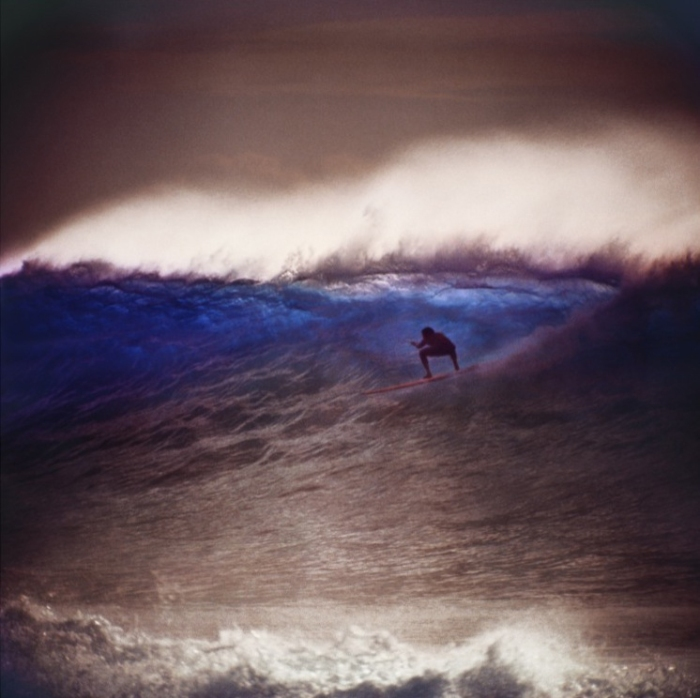 Caption: LeRoy Grannis, 1963. A signed, dated 36x36 Chromogenic print of this photograph sells between $12,000-$15,000 US. (Photo Credit: Leroy Grannis)