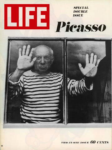 Doisneau's cover portrait of Pablo Picasso for Life magazine (Photo Credit: Robert Doisneau)