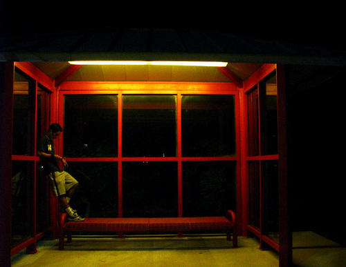 """Waiting for the Magic Bus,"" Carla B., Miami, Florida"